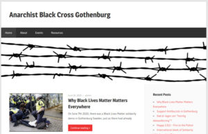 Skärmklipp av ABC GBG:s hemsida.