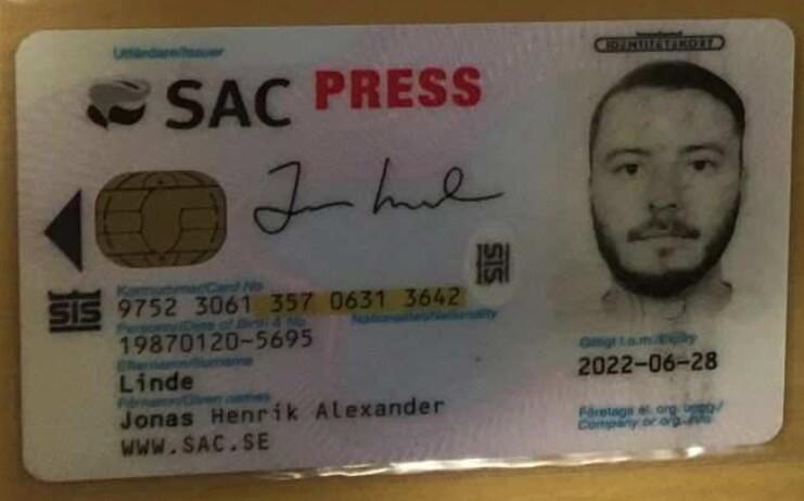 Jonas Linde SAC AR-15 vapenbrott Arbetaren