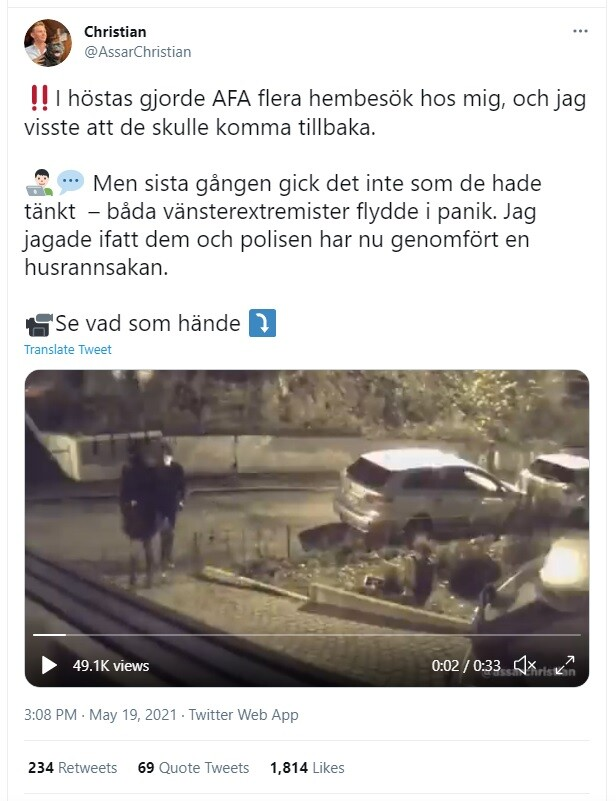 Christian (AFS) AFA-Göteborg