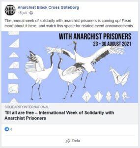 ABC GBG uppmärksammar solidaritetsveckan.