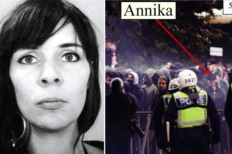 Annika Lundmark Revolutionära Fronten AFA