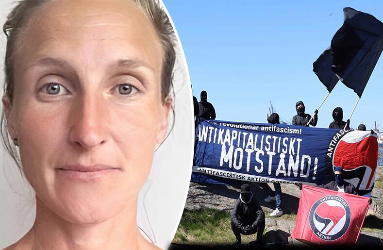 Marja Forssman Vänsterextremist